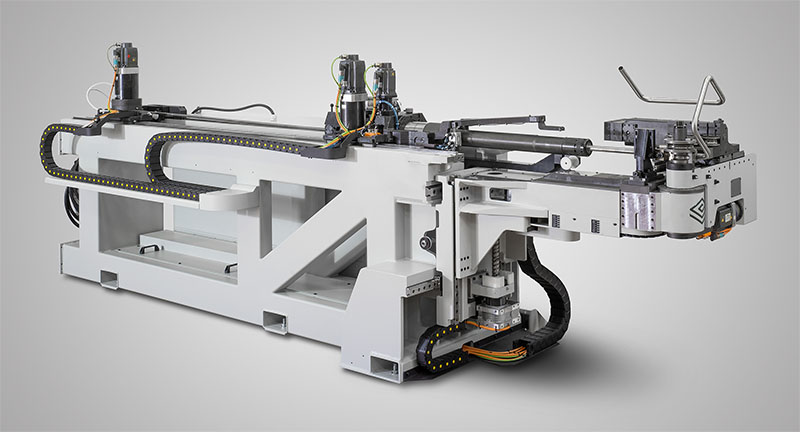 ELECT40 all-electric tube bending with extended bending head