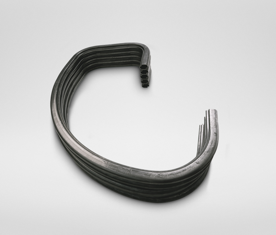 Components made with an ELECT tube bending machine