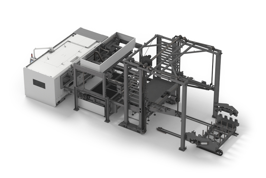 automatic sheet loading unloading systems