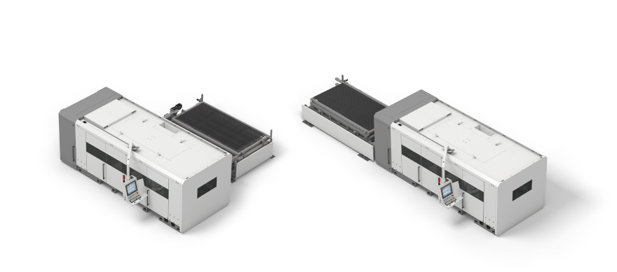 Sheet laser cutting system made by BLM GROUP