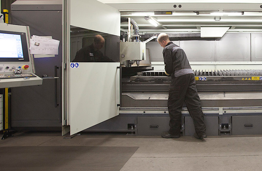 Staalbouw Hendriks invests in a new generation of sheet metal laser cutting machines