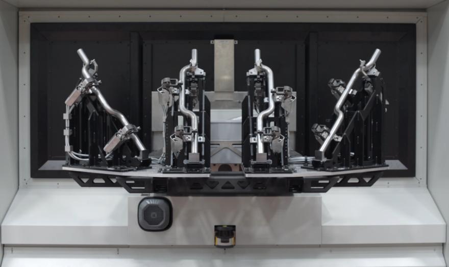Attrezzature per il taglio laser 3D di grandi lotti produttivi