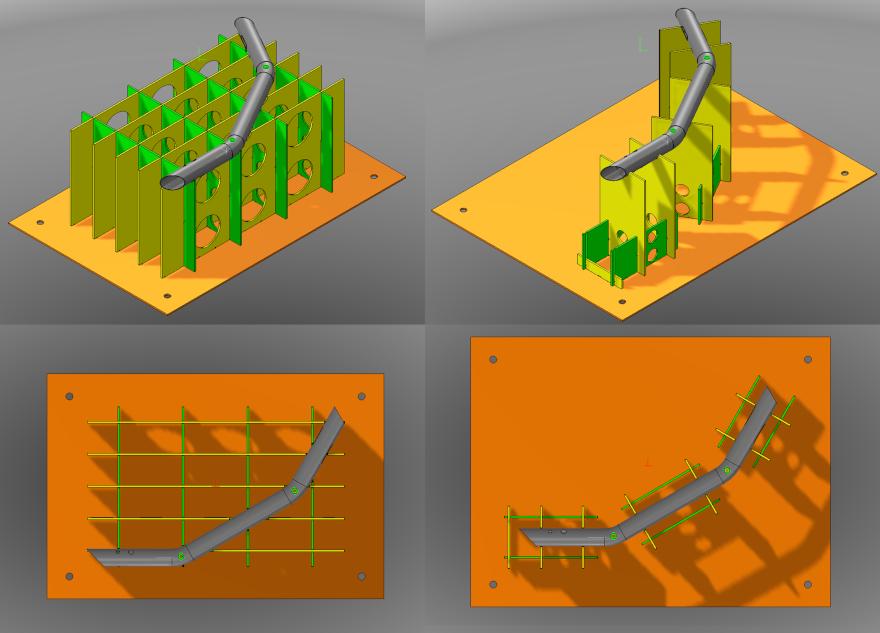 Progetto di attrezzatura di taglio laser 3D per tubo curvato