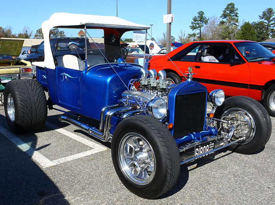Example of a show car.