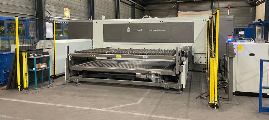 Sistema LC5 installato presso Viollet Industries