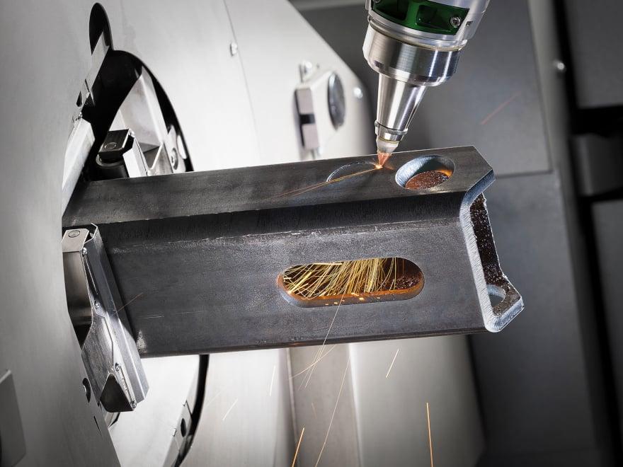 Gli impianti Lasertube sono in grado di interfacciarsi con il sistema gestionale (ERP)