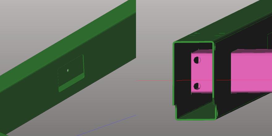 ArTube screenshot of a tubular frame programming