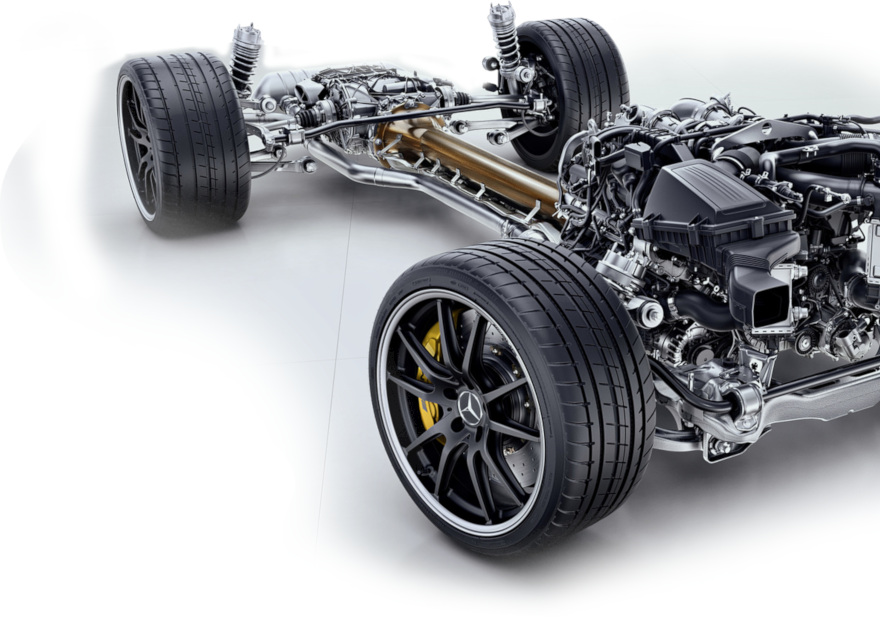 use of tubes in the automotive sector