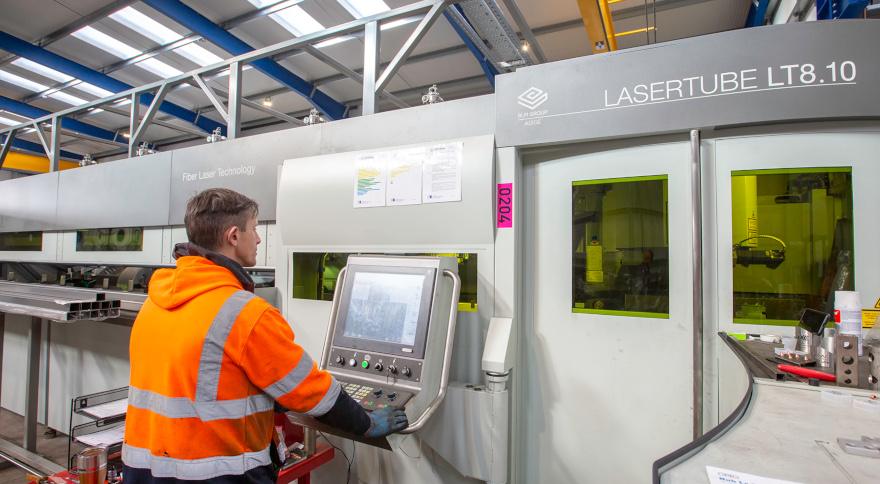 Installation of LT8.10 at new Optimal Metal Services plant